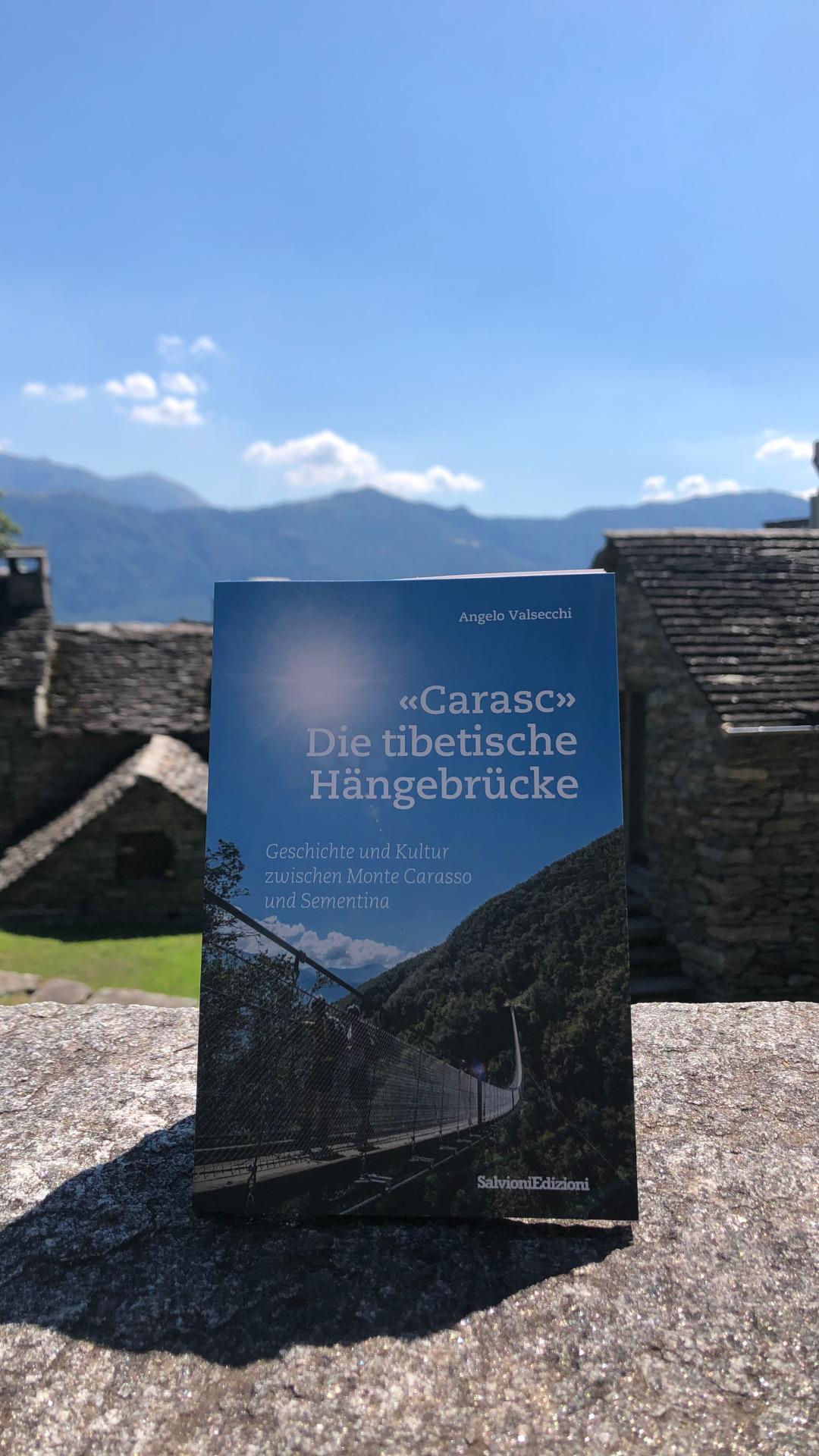 """Buch """"Carasc"""" Die tibetische Hängebrücke"""